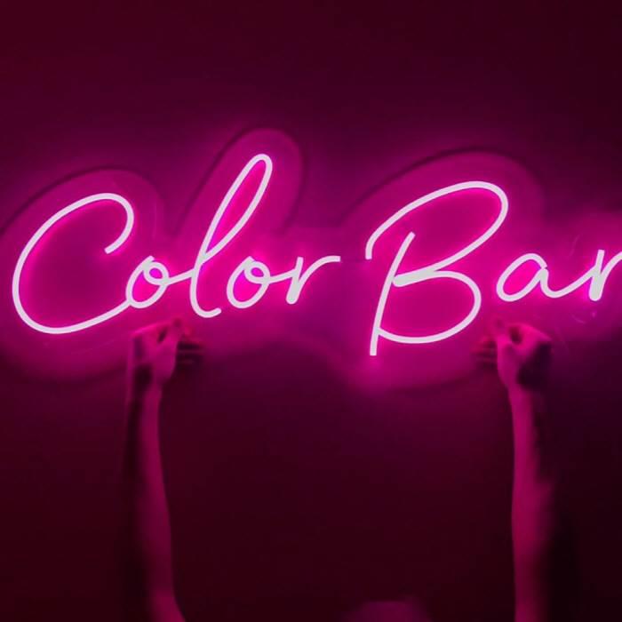 Color Bar - LED Neon felirat bárokba