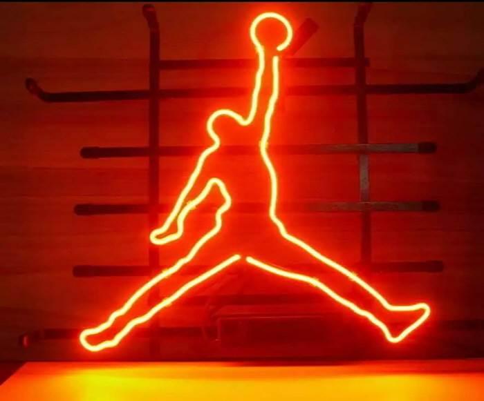 Jordan LED Neon logó dekoráció