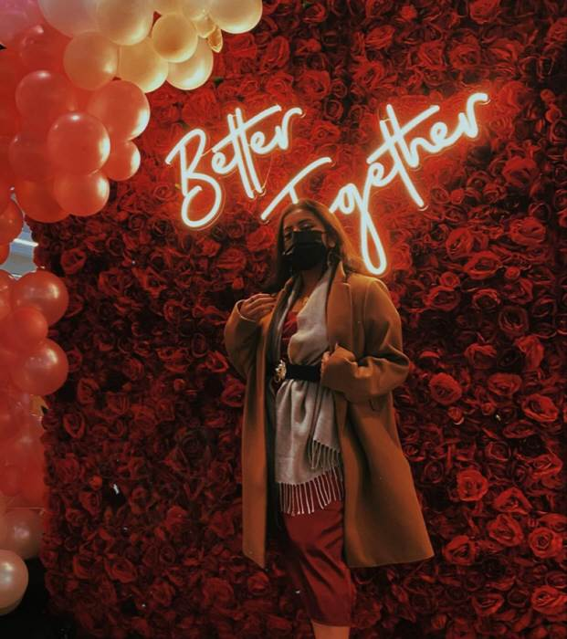 Better Together - LED Neon felirat rendezvényekre