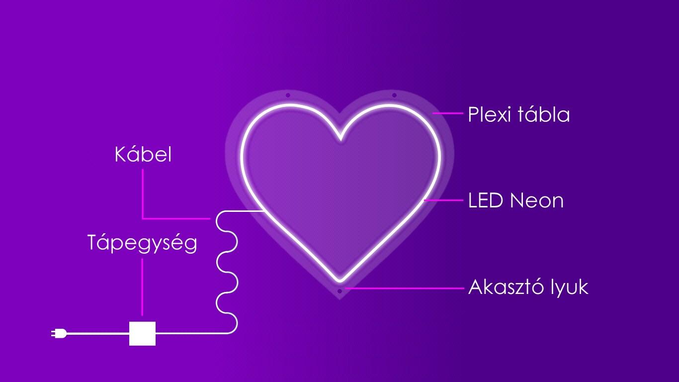 Led Neon felirat gyártás