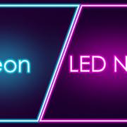 Hagyományos neon reklám vagy LED Neon?